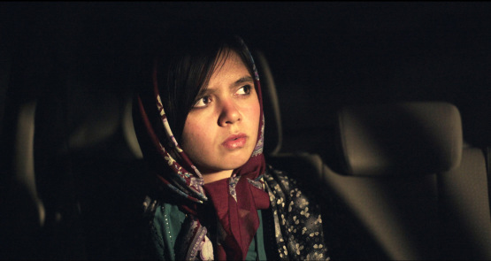 Marziyeh Rezaei in a scene from <i>3 Faces</i>, courtesy Kino Lorber