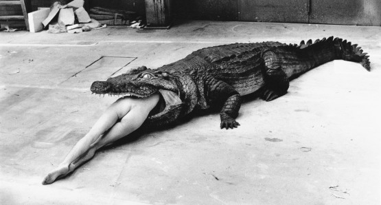 Pina Bausch, Wuppertal, 1983. Photo by Helmut Newton, courtesy Helmut Newton Foundation.