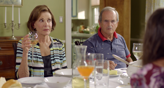 Jessica Walter and Tibor Feldman in a scene from <i>Keep the Change</i>, courtesy Kino Lorber