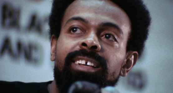 Amiri Baraka in a scene from <i>Nationtime</i>, courtesy Kino Lorber