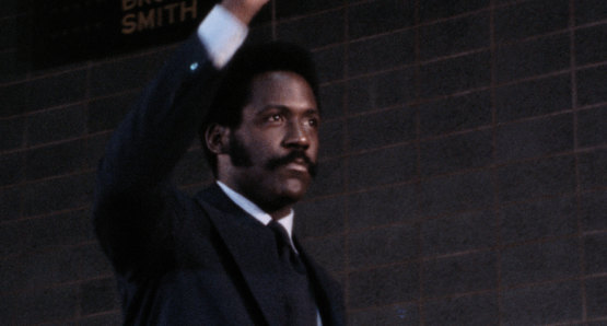 Richard Roundtree in a scene from <i>Nationtime</i>, courtesy Kino Lorber