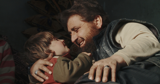 A scene from <i>Of Fathers and Sons</i>, courtesy Kino Lorber