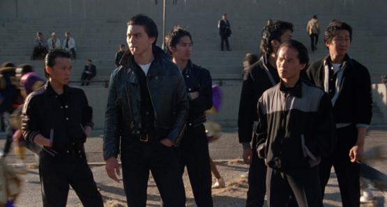 The Wongs, one of several distinctive youth gangs in THE WANDERERS.