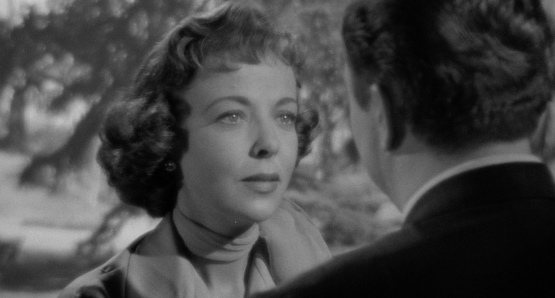 Ida Lupino directs and co-stars as Phyllis Martin, one of Edmund O'Brien's two wives in THE BIGAMIST.