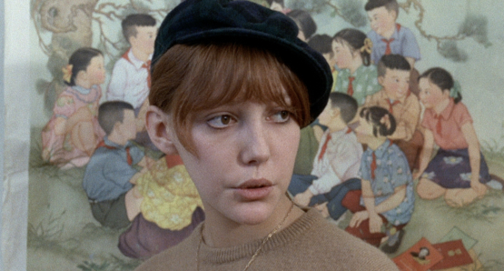 Anne Wiazemsky as Veronique in LA CHINOISE.