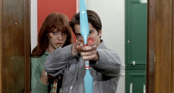 Jean-Pierre Léaud and Anne Wiazemsky in LA CHINOISE.