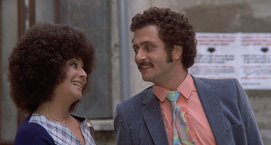 Isa Danieli and Luigi Diberti in ALL SCREWED UP.