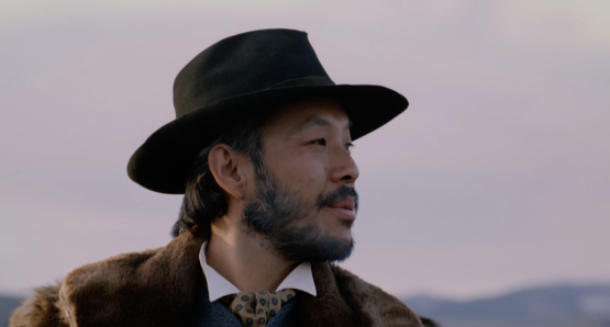 Michael Paul Chan as Hong King in Nancy Kelly's THOUSAND PIECES OF GOLD.