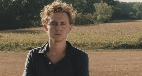 Tom Hiddleston as Oakley in UNRELATED, a film by Joanna Hogg.