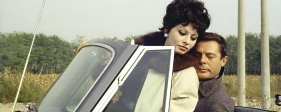 Marcello Mastroianni and Sophia Loren in Yesterday, Today and Tomorrow.
